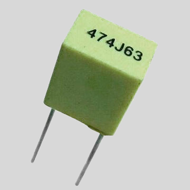 polyester box capacitor value example