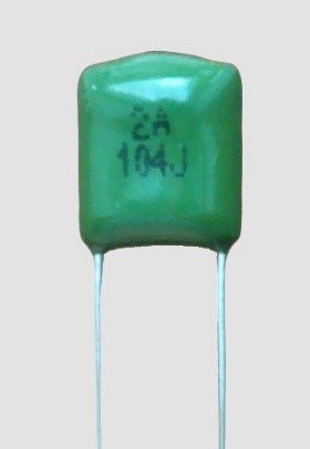 polyester capacitor value example 1