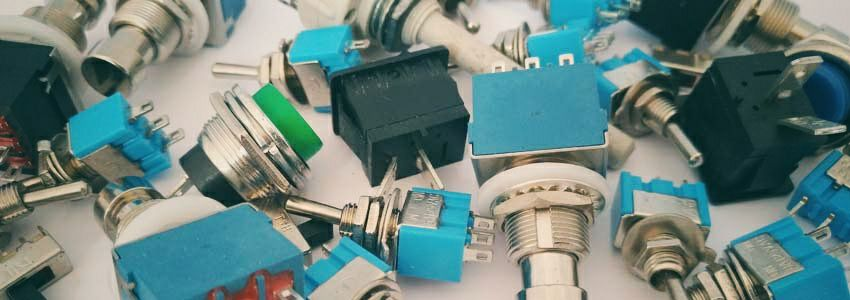 electronic components switches application circuits