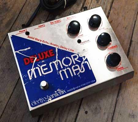 electroharmonix memory man bbd analog delay